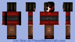 EpicTale Chara. [Maybe Underfail Chara] [Flower Child Chara] Minecraft Skin