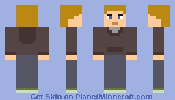 Jo from Total Drama Minecraft Skin