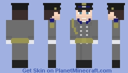 KGB Parade Uniform Minecraft Skin