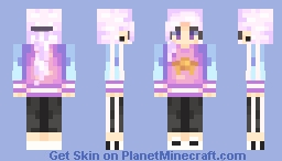 Miss Atomic Bomb Minecraft Skin