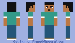 Mike from Total Drama Minecraft Skin