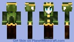 Hatsune Miku - 1925 Minecraft Skin