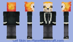 Ghost Rider | Agents of S.H.I.E.L.D. Minecraft Skin