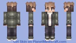 Killing Stalking - Sangwoo Oh Minecraft Skin