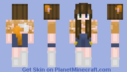 Eloise (Requested by NoodlesInACup) Minecraft Skin