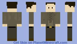 Giorgio Tsoukalos (The Alien Meme Guy) Minecraft Skin