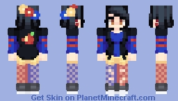 || snow || skin for Ambi's contest || Minecraft Skin