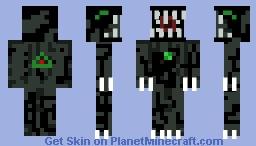 Alien vs Predator Dangerous Alien(Aliens Skin Contest) Minecraft Skin
