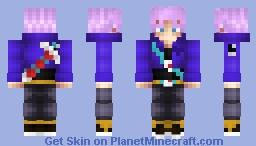 Future Trunks|Dragonball Z Minecraft