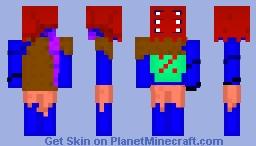 Dorevany, The Stranded Alien [Alien Contest] Minecraft Skin