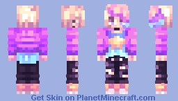 sorry for the disgustingly vibrant colours Minecraft Skin