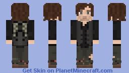 Daryl Dixon ( Season 6 A, B, 7 A ) Minecraft Skin