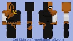 Deathstroke (Rebirth) 2017 Minecraft Skin