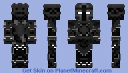 Black Knight Minecraft Skin
