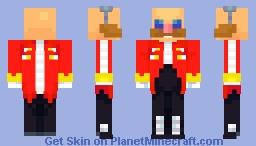 "Dr. Ivo ""Eggman"" Robotnik Minecraft Skin"