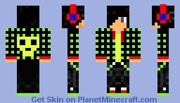 Anti Zek Minecraft Skin