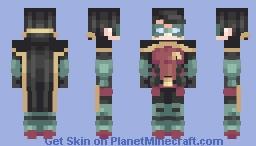 Damian Wayne | Robin Minecraft Skin