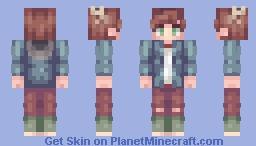 oc || jean-luc Minecraft Skin