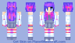 wow thats a lot of ribbons Minecraft Skin