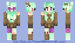 🍇Misty🍇 Popreel! Minecraft Skin