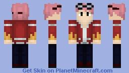 FairyTail ➢ Natsu Dragion ✯Edolas✯ Minecraft Skin
