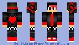 Yokune Rook UTAU   {Cherry} Minecraft Skin