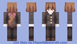 センパイ~ Minecraft Skin