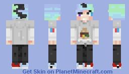 This is Jerry Pychopathson Minecraft Skin