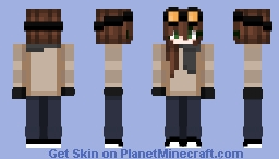 """""""i'm expecting paperjam when you come out of there"""" Minecraft Skin"""