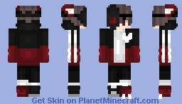 ʜαisεi - Half Skull Boy Minecraft Skin