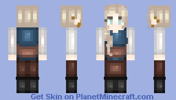 Britta Santorski Training - Massivecraft (New Shading?) Minecraft Skin
