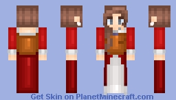 Golden Bodice - Massivecraft Minecraft Skin