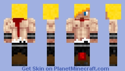 Eternal Warrior Minecraft Skin