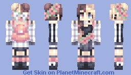 Poppies Minecraft Skin