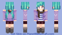 I made  something Minecraft Skin