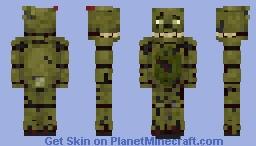 SpringTrap - FNaF 3 Minecraft Skin