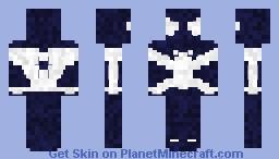Symbiote Spiderman (My Version) Minecraft Skin