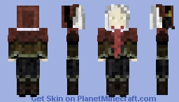Bloodborne Plain Doll Minecraft Skin