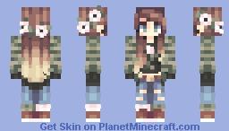 Blue Velvet // Minecraft Skin