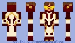 CW Bart Allen/Impulse (my version) Minecraft Skin