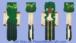 ⊰ Belleneth The WoodElf⊱ Minecraft Skin