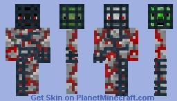 ☠ Agressive Mobs Skin (Dungeon Theme - Red) ☠ Minecraft Skin