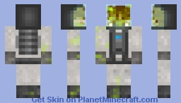 Lost scientist explorer Minecraft Skin