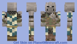 Warden | For Honor Minecraft Skin