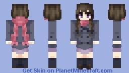 Hiyori Iki ~ Noragami Minecraft Skin