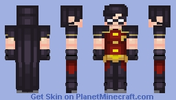 Robin (Dick Grayson) - Young Justice Minecraft Skin