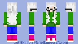 Kazumi, the worst EarthBound OC of all time. Minecraft Skin