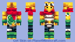 Koopa Knight Minecraft Skin