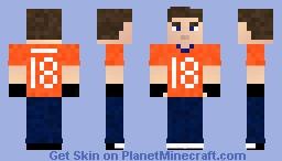 Me (Peyton Manning Jersey) Minecraft Skin