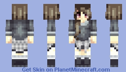 this is what i was wearing so like ya Minecraft Skin